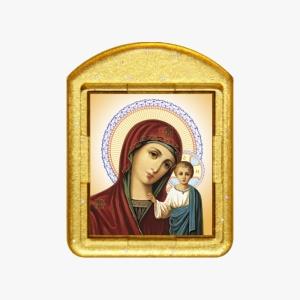 Казанская икона Б.М. - ладанка. образ