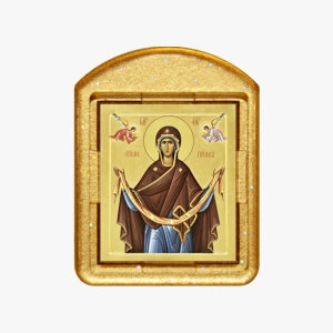 Святой Пояс Богородицы. Ладанка. Образ