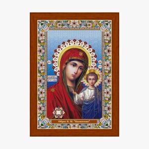 Казанская. Икона с Поясом Богородицы