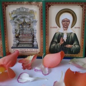 Лепестки святой блаженной Матроны