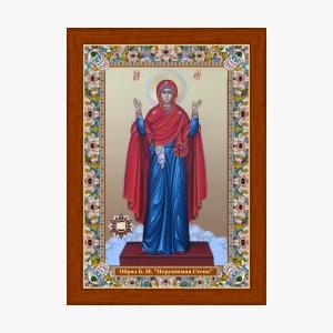 Нерушимая Стена. Икона с Поясом Богородицы
