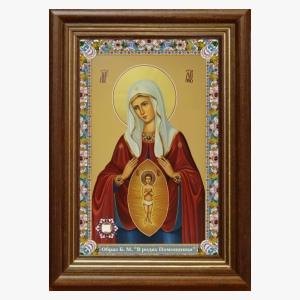 Образ Божией Матери В родах Помощница 2