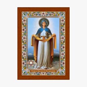 Покров. Икона с Поясом Богородицы