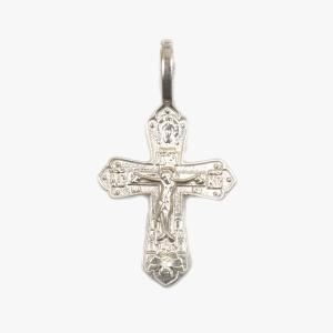 Серебряный крестик нательный, серебро