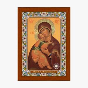 Владимирская. Икона с Поясом Богородицы