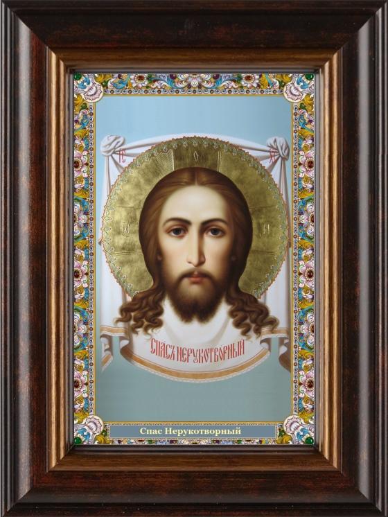 Спас Нерукотворный, икона, киот, Спаситель