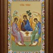 Святая Троица Ветхозаветная, киот