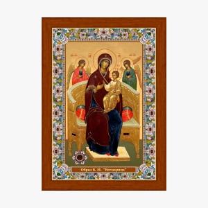 Всецарица. Икона с Поясом Богородицы