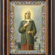 Блаженная Ксения Петербургская, икона
