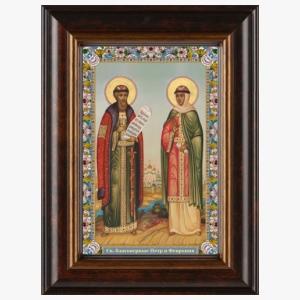Образ благоверного князя Петра и княгини Февронии
