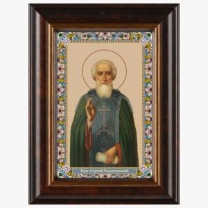 Образ преподобного Сергия Радонежского, икона