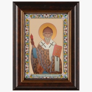 Образ святителя Спиридона Тримифунтского