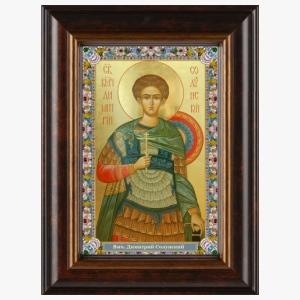 Образ великомученика Димитрия Солунского, икона