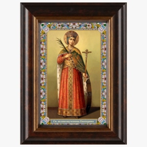 Образ великомученицы Екатерины