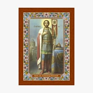 Благоверный князь Александр Невский икона