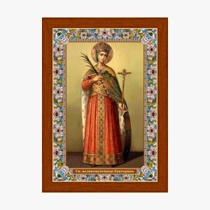 Великомученица Екатерина, икона