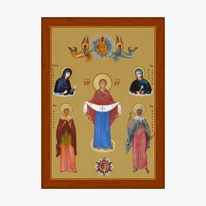 ikona-bogoroditsy-i-svyatyh-muchenits