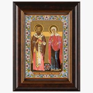 svyashhennomuchenik-kiprian-i-muchenitsa-iustina-ikona