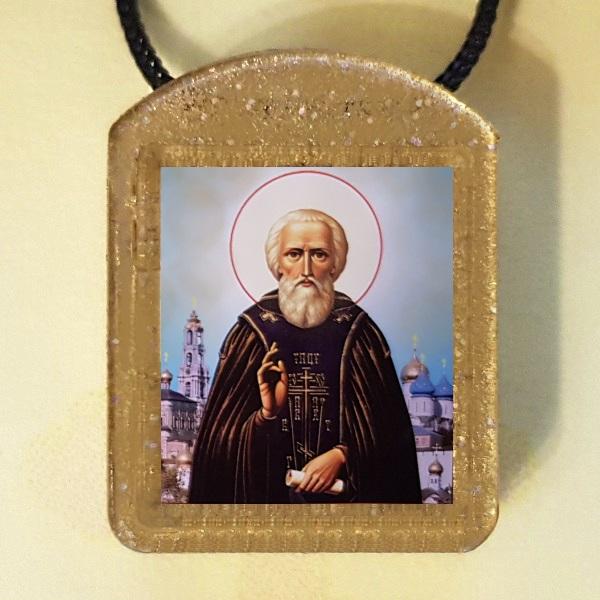 Преподобный Сергий Радонежский. Ладанка